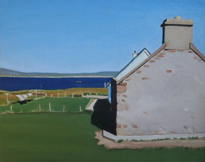 landscape painting Good Drying, Gola