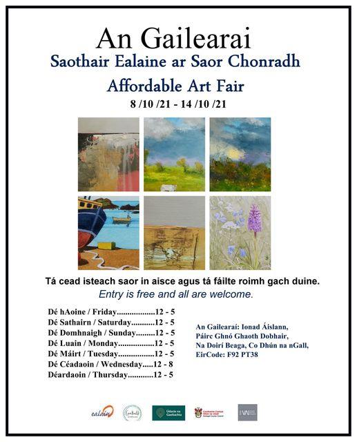 Affordable Art Fair Poster