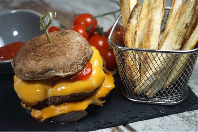 champi burger