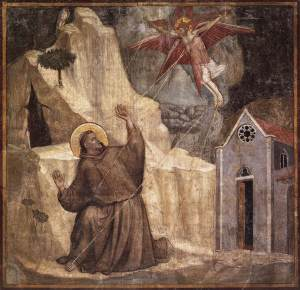 stigmata, st. francis, giotto, wounds of christ