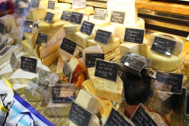 Cheeses in Hunters of Helmsley