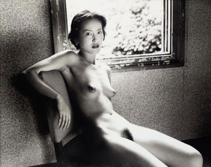 untitled, nude on white, 2007