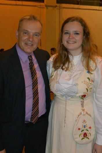 Arnett and me!