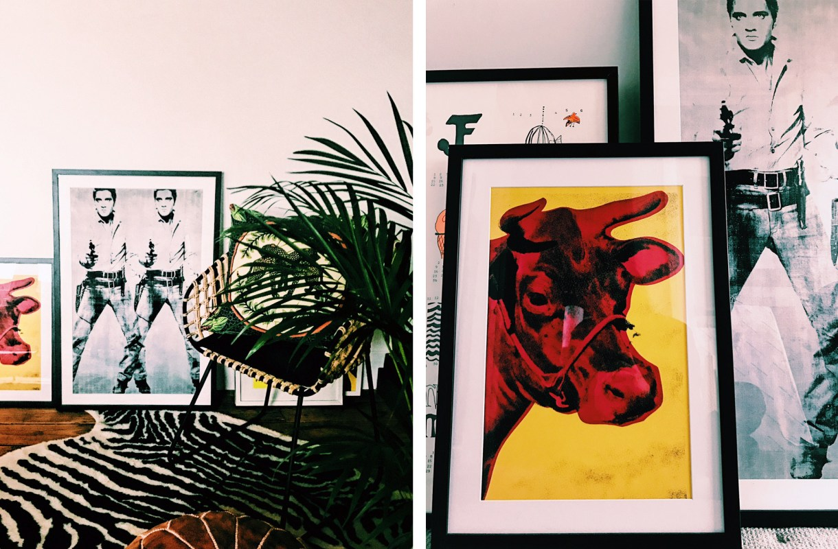 Emma-Jane-Palin-King-and-McGaw-Double-Elvis-Print-Cow-Andy-Warhol