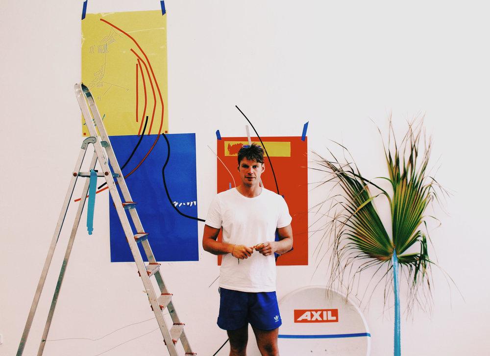 Daniel van der Noon Artist Residency at STUDIO ROJO, CCA Andraxt, Mallorca