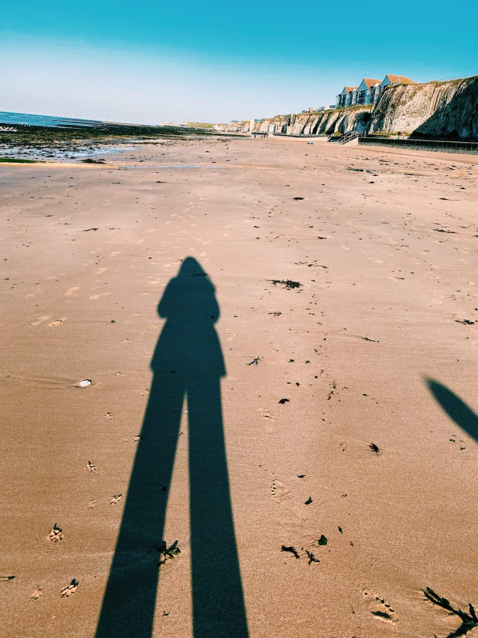shadow on Margate beach