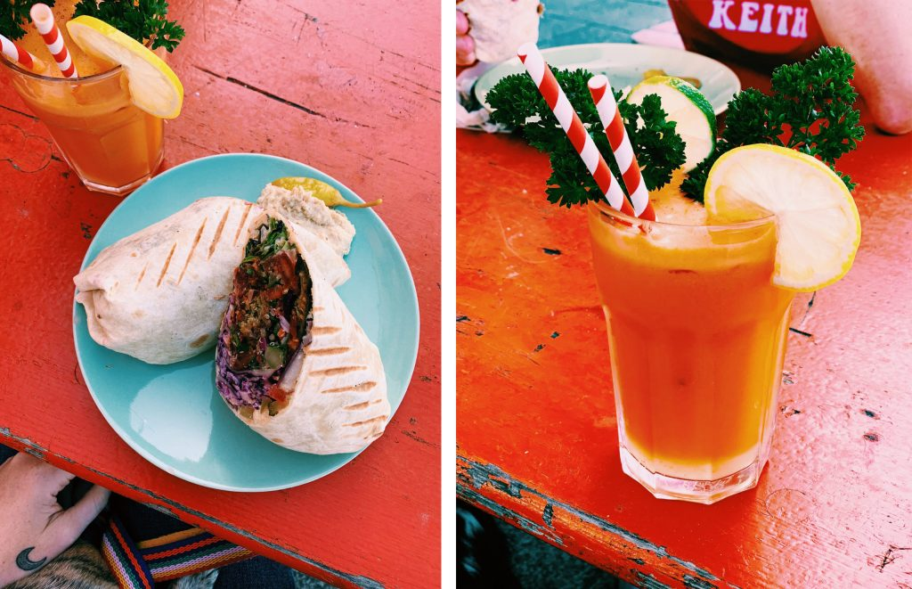 where to eat in Margate - street food  at Foody Moodys