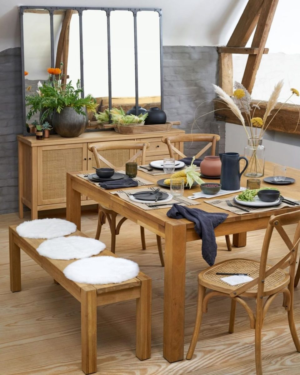 dining table setup by La Redoute