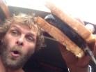 ...in a flying fish sandwich