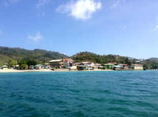 Hillsborough. Our first official port of call on Carriacou. Because we didn't anchor for two days without checking in, no sir.