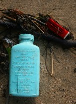 Medical bottle, lighter
