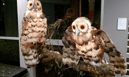 Belgrave Lantern Artists Owls 2012