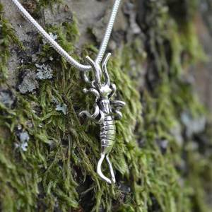 Earwig Pendant 2 - Emma Keating Jewellery