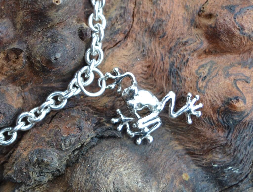 Frog Charm 1 - Emma Keating Jewellery