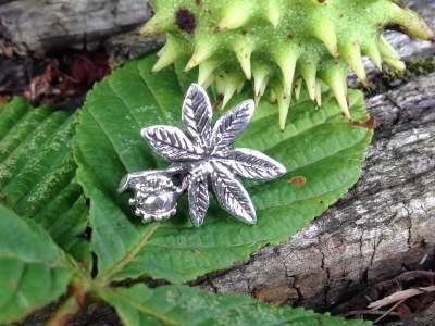 Horse Chestnut Leaf - Emma Keating Jewellery