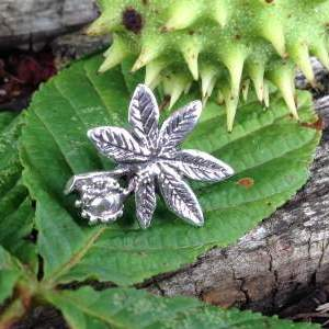 Horse Chestnut Leaf - Emma Keating Jewellery