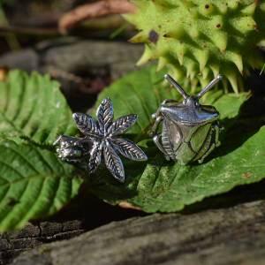 Horse-Chestnut-&-Shieldbug-2---Emma-Keating-Jewellery