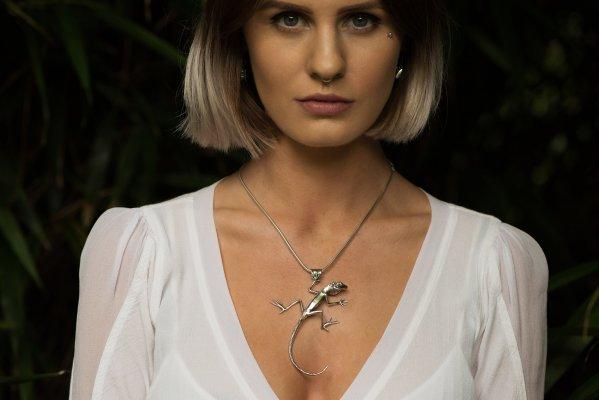 Lizard Pendant - Emma Keating Jewellery CW2