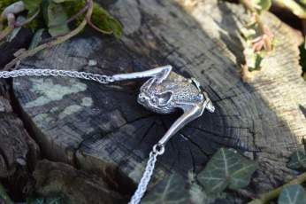 Pipistrelle Bat Necklace - Emma Keating Jewellery