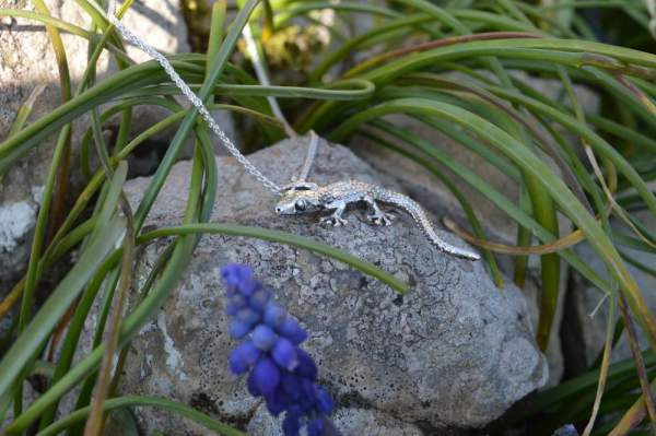 Moorish Gecko Pendant - Emma Keating Jewellery