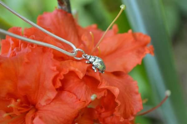 Ladybird Pendant 6s - Ladybird Charm- Emma Keating Jewellery