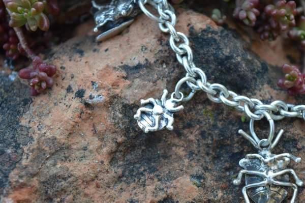 ladybird charm underside s - Emma Keating Jewellery