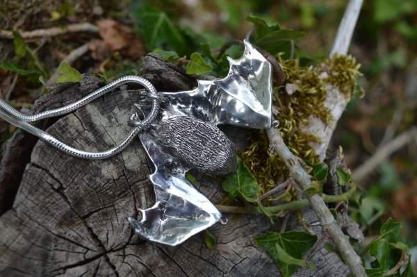 Pipistrelle Bat O underside s - Emma Keating Jewellery