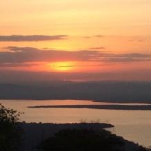 Sunrise over Tanzania when at Akagera National Park