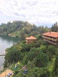 """""""Treat yo self"""" cabin-ing at Lake Kivu"""