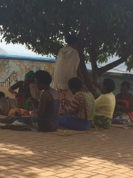 Women's co-op at the Meg Foundation