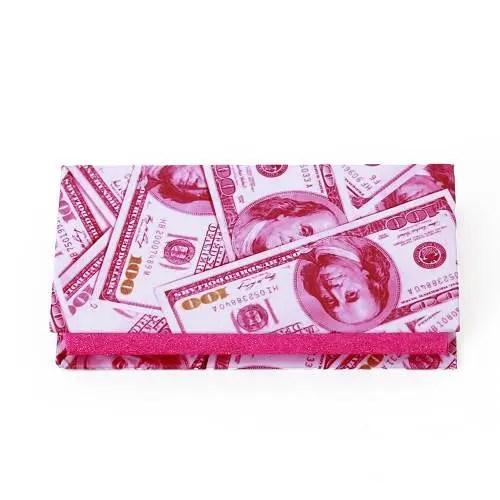 US Dollar eyelash packaging