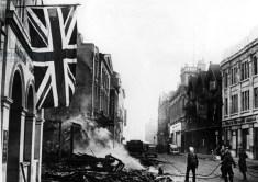 High Street, Coventry, 15th November 1940 (b/w photo)