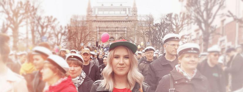 Emma Lindqvist Vappupuhe 2018