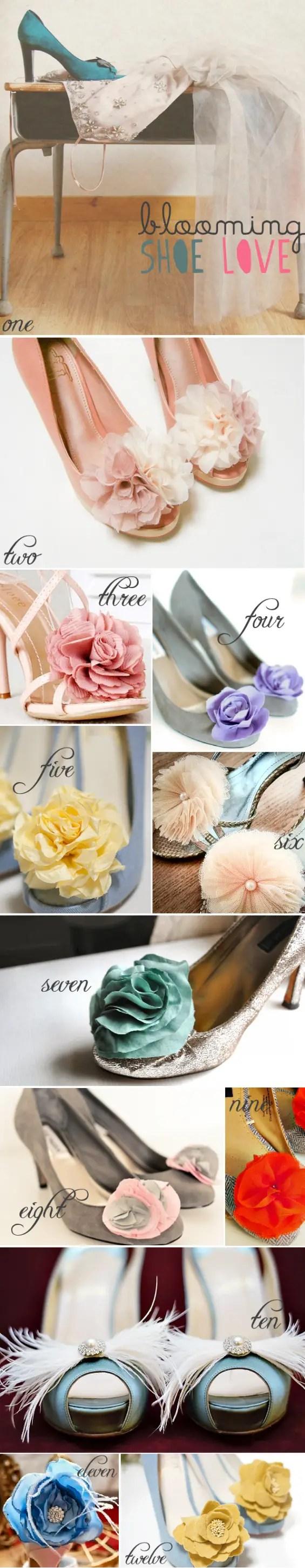 handmade shoe clips