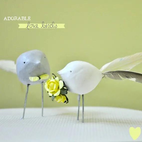 Love Bird Cake Topper | Emmaline Bride