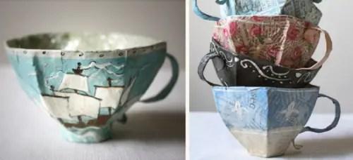 bridal party teacups