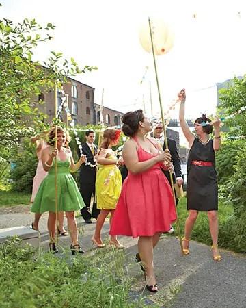 mismatched bridesmaid dresses pictures