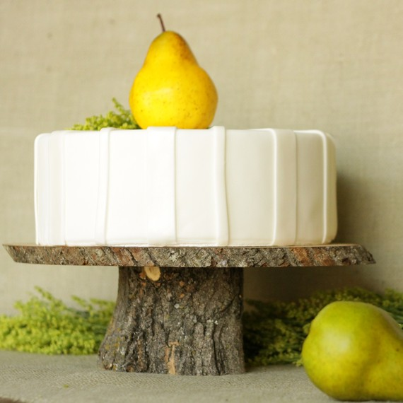 wooden cake plates - 3