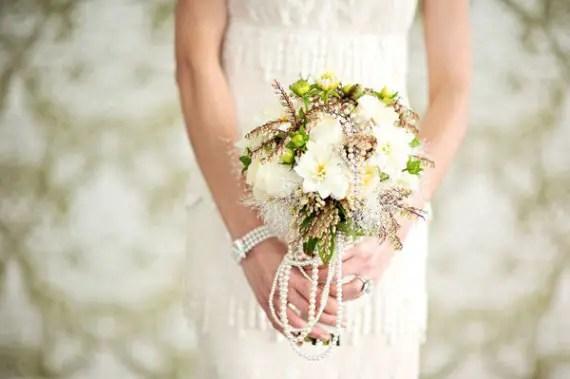 pearl bouquet wrap