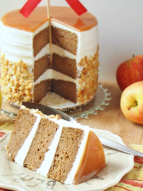 caramel apple wedding cake emmaline bride