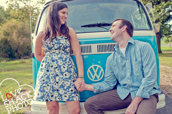 Volkswagen engagement shoot