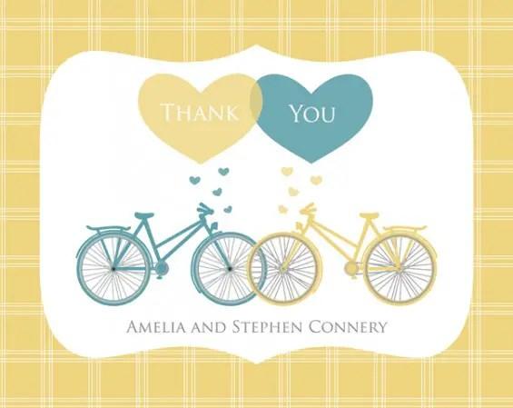 wedding thank you cards