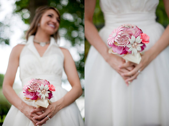 how to create the perfect brooch bouquet