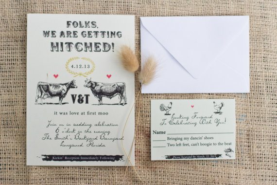 Hitched Wedding Invitations: 5 Things You Didn't Know About Wedding Invitations