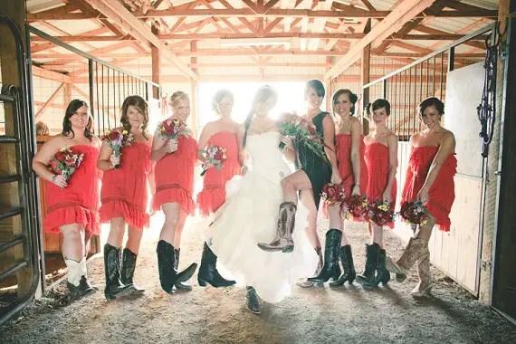western wedding