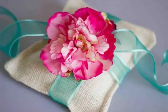 Hot Pink and Blue Wedding Palette - Handmade Wedding - us222