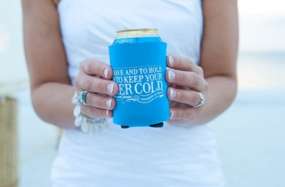 beach wedding cozies
