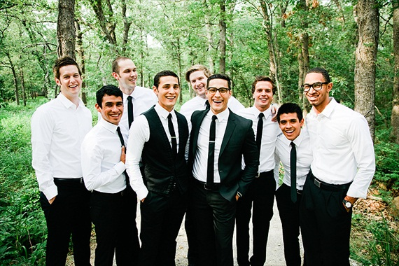 tulsa outdoor wedding - PostOak Lodge