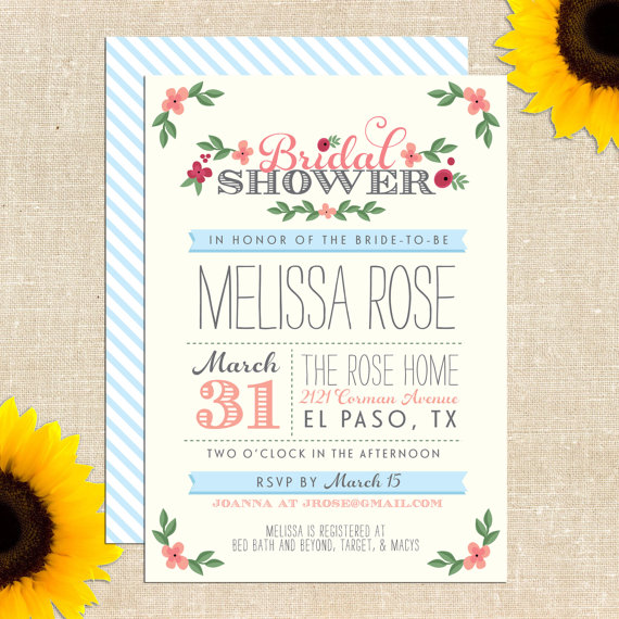 free printable bridal shower invitation giveaway