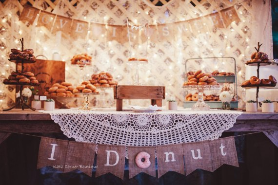 donut stand weddings